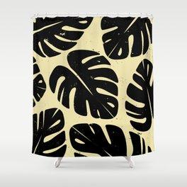 Monstera Leaf Print 2 Shower Curtain