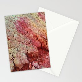 Red Clay Cliffs Stationery Cards