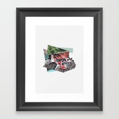 Private Screening Framed Art Print