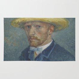 Portrait of Theo van Gogh Rug