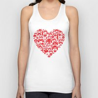inside gaming Tank Tops featuring Gaming Love by Tombst0ne