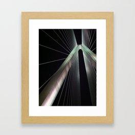 Arthur Ravenel Jr. Bridge Framed Art Print