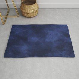 Dark blue clouds Rug