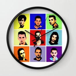 Shades Of Dave Wall Clock