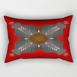 Red Box Rectangular Pillow