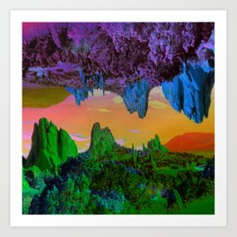 Garden of The Gods Multiverse Art Print