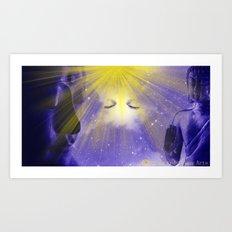 Spirit Visage Art Print