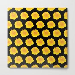 Hibiscus pattern_YB Metal Print