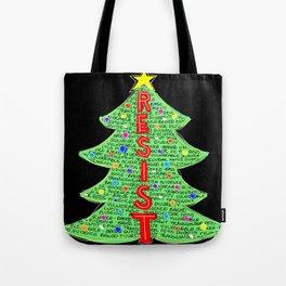 CDC Resist Tree Tote Bag