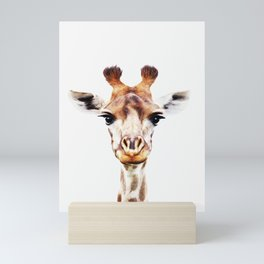 Funny Giraffe Mini Art Print