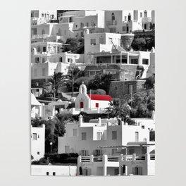 Red Door Church POP Poster