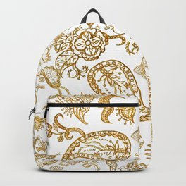 India henna pattern Backpack
