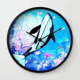 Orca 3 Wall Clock
