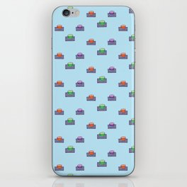 The button iPhone Skin