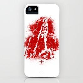 Kenpachi Zaraki - Red Abstract iPhone Case