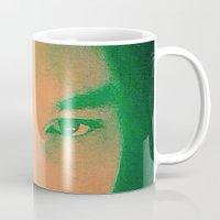 apollo Mugs featuring Apollo incarnate by Angela Pesic