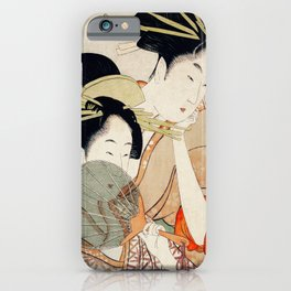 The Two Girls iPhone Case
