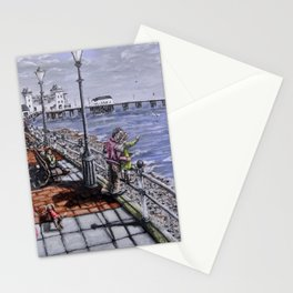 Penarth Seafront Stationery Cards