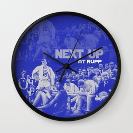 Next Up in Rupp Wall Clock