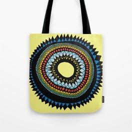 Patterned Sun II Tote Bag