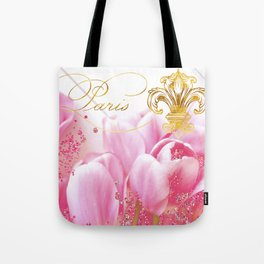 Wedding in Paris Tote Bag
