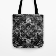 Black n White Diamond Tote Bag