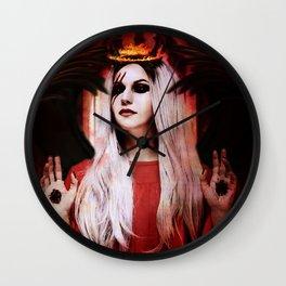 My Demons Cristina Scabbia Inspired Artwork Wall Clock