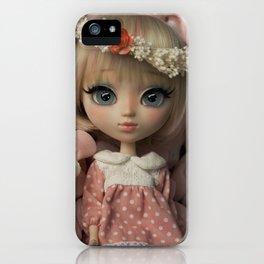 Innocent girl iPhone Case