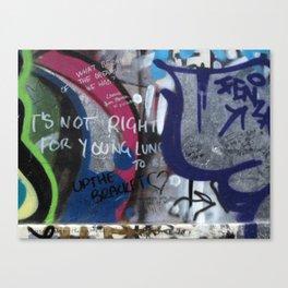 Hare Row - Up The Bracket Canvas Print