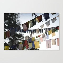 Flags of wisdom Canvas Print