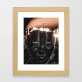 CO2 Framed Art Print