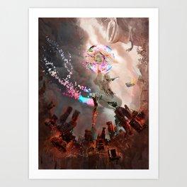 Robot 69 Art Print
