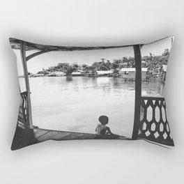 Quiet Moment on Isla Bastimento, Panama Rectangular Pillow
