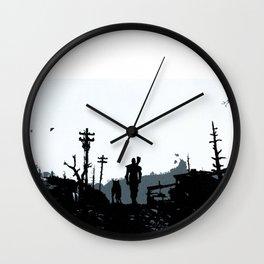 The Lone Wanderer Wall Clock