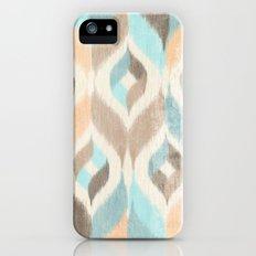 Soothing Waves Ikat iPhone SE Slim Case