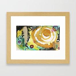 Vision Card Framed Art Print