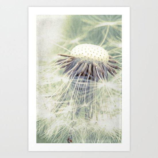a weed Art Print