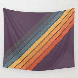 Classic 70s Style Retro Stripes - Dalana Wall Tapestry