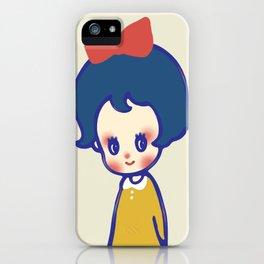 a little girl  iPhone Case