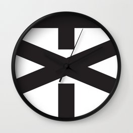 Trump Not My President in Black Wall Clock