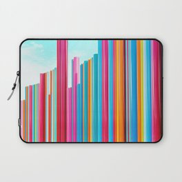 Colorful Rainbow Pipes Laptop Sleeve