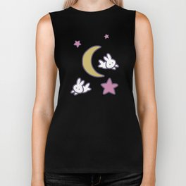 Cute Kawaii Fairy Kei Sailor Moon Bedspread Biker Tank