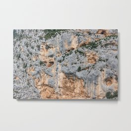 Cliffs in France Metal Print