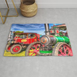 Traction Engine and Steam Lorry Rug