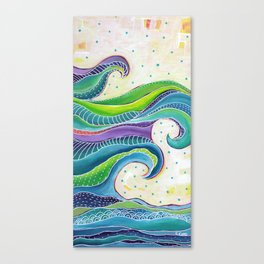 Tribal Wave I Canvas Print