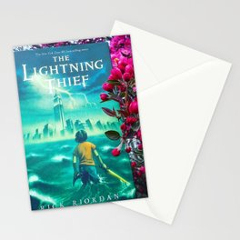 Percy Jackson & the Cherry Blossom Tree Stationery Cards