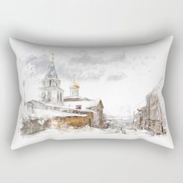 Russian landscape Rectangular Pillow