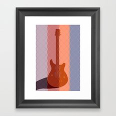 It's Electric Subdued Framed Art Print