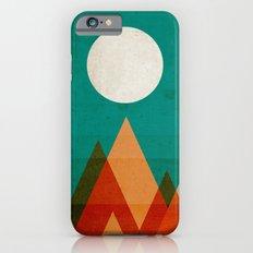 Full moon over Sahara desert iPhone 6s Slim Case