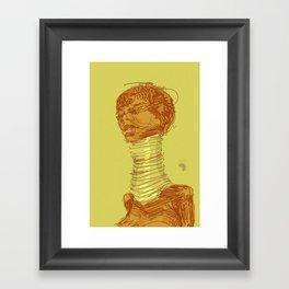Ringneck Framed Art Print